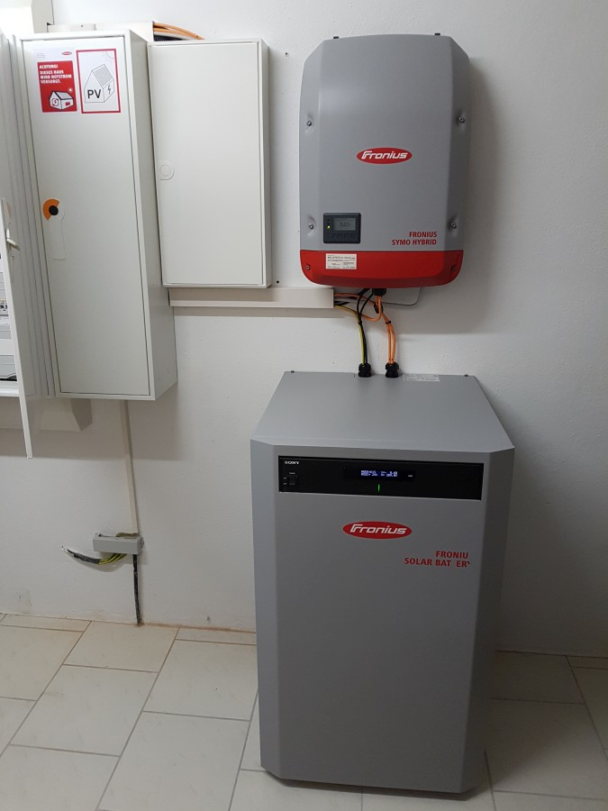 Nachrüstung Stromspeicher Fronius in Rochlitz