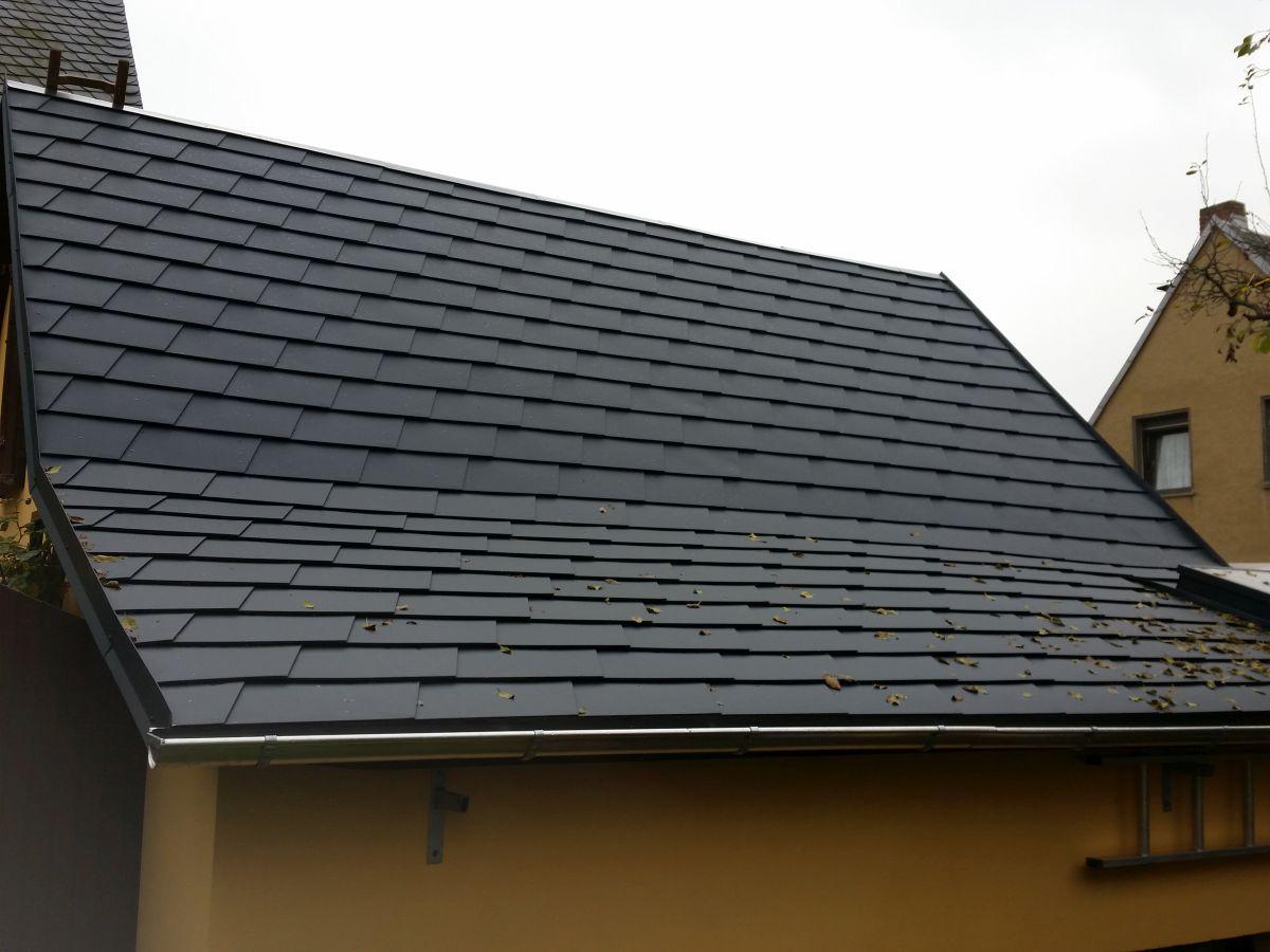 Prefa Dacheindeckung