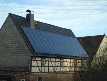 PV-Anlage (Heckert-Solar Black)
