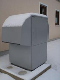 Neubau mit Luft-Wasser-Wärmepumpe