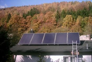 Thermische Solaranlage (12,5 m²)
