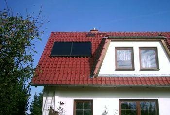 Solaranlage zur Warmwasserbereitung (5,04 m²)