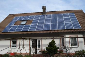 PV-Anlage mit einer Leistung von 5,25 Kwp