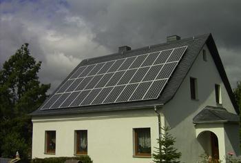 PV-Anlage mit einer Leistung von 4,95 Kwp
