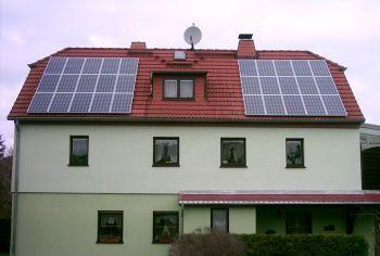 PV-Anlage mit einer Leistung von 4,8 KWp